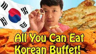 Download TRADITIONAL Korean ALL YOU CAN EAT Buffet in Seoul South Korea! Video
