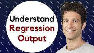 Download Regression III: Understanding regression output Video