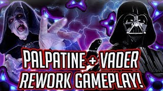 Download Emperor Palpatine and Darth Vader REWORKED With New Zetas Gameplay! | Star Wars: Galaxy of Heroes Video
