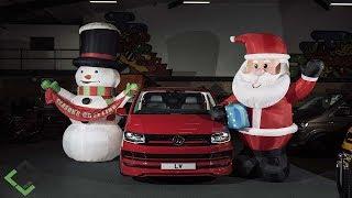 Download Santa Comes to Leighton Vans - Super High Spec VW Transporter LWB Kombi Sportline 4Motion Grey Video