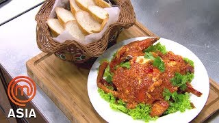 Download Singaporean Chilli Crab by Chef Eric Teo - MasterChef Asia | MasterChef World Video