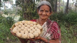 Download Tasty and Healthy Rava Laddu by My Grandma || Myna Street Food Video