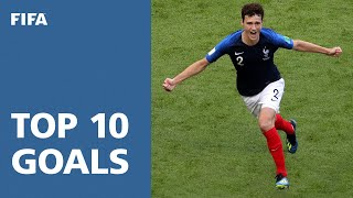 Download TOP 10 GOALS - 2018 FIFA WORLD CUP RUSSIA (EXCLUSIVE) Video