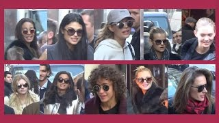 Download The Victoria's Secret Angels are leaving Paris / 1 december 2016 after Fashion Show Video