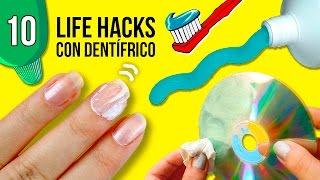 Download 10 TRUCOS o Life hacks con PASTA DE DIENTES 😱 * DIY, trucos e IDEAS con DENTÍFRICO Video