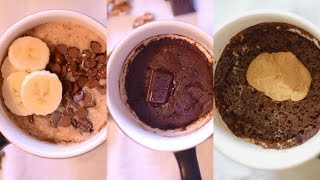 Download Eggless and Healthy Mug Cakes Recipe| 3 Microwave Mug Cake Recipes | 3 Delicious Flavors Video