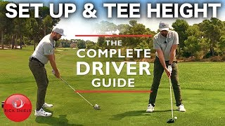 Download SET UP & TEE HEIGHT FOR DRIVER! THE COMPLETE DRIVER GUIDE Video