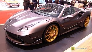 Download 2017 Ferrari 488 Spider Mansory 4XX Siracusa - Exterior Interior Walkaround - 2017 Geneva Motor Sh Video