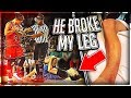 Download He Broke My Leg At Ace Family Event (Charity Basketball Highlights) Video