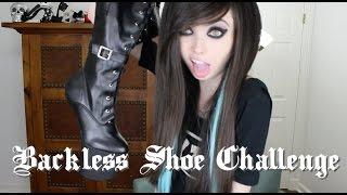 Download BACKLESS SHOE CHALLENGE Video