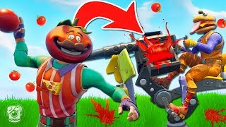 Download *NEW* FOOD FIGHT Limited Time Mode in Fortnite Battle Royale! Video
