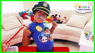 Download Ryan Pretend Play Costume Show Dress Up!!!! Video
