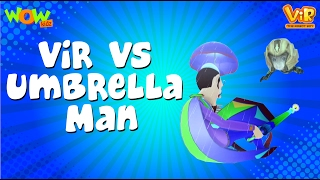 Download Vir The Robot Boy | Hindi Cartoon For Kids | Vir vs umbrella man | Animated Series| Wow Kidz Video