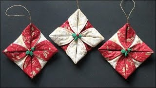 Download Folded Fabric Ornaments Video