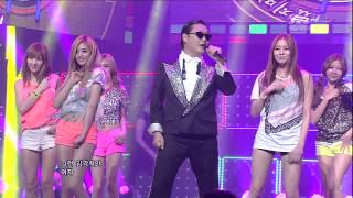 Download PSY 0729 SBS Inkigayo GANGNAM STYLE (강남스타일) Video