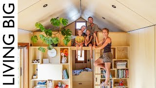 Download Family of 5's Modern Tiny House Packed With Clever Design Ideas Video