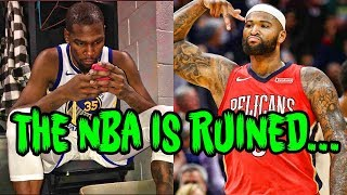 Download DeMarcus Cousins And The Warriors Just RUINED The NBA Video