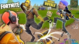 Download FORTNITE Battle Royale Rap! FGTEEV vs. 100 PEOPLE PVP! SNIPER FUNNY MOMENTS + New Map Double Chests Video