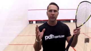 Download How to hold your squash racket - squash coaching tip by PDHSports Video