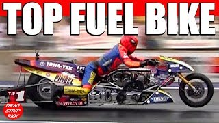 Download World's Fastest Top Fuel Motorcycle Drag Racing Nitro Bike Video Video