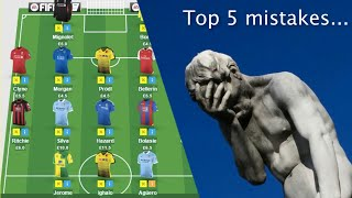 Download Top 5 Fantasy Premier League mistakes to avoid Video