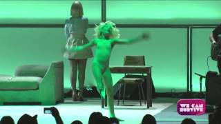 Download Sia - Chandelier (Live at We Can Survive, Hollywood Ball) SIA SHOWED HER FACE FINALLY!!! Video