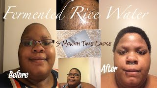 Download Fermented Rice Water Before And After 3 Month Time Lapse. Video