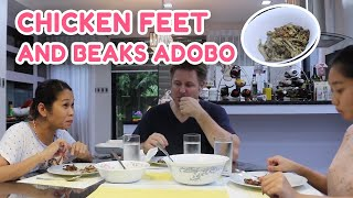 Download CHICKEN FEET & BEAKS ADOBO w/ POKWANG AND LEE O'BRIAN Video