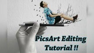 Download Amazing photo editing tutorial! - PicsArt 2016 ʕ•ᴥ•ʔ Video