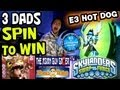Download E3 Hot Dog: 3 Dads Spin to Win @ Skylanders SwapForce booth (Asian Guy Gamer / EvanTubeHD) Video