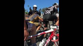 Download Cop Pulls Over a Group of Cyclists Video