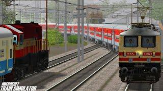 Gaya to Mughalsarai Patna Rajdhani express Train simulator