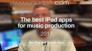 Download The 17 top iPad apps for music production of 2017 Video