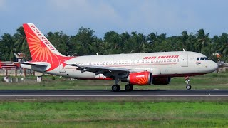 Download Air India Airbus A319 Takeoff from Trivandrum International Airport [HD] Video