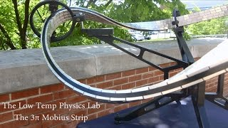 Download Superconducting Quantum Levitation on a 3π Möbius Strip Video