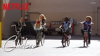 Download Riding Bikes with the Stranger Things Kids [Exclusive] | Chelsea | Netflix Video