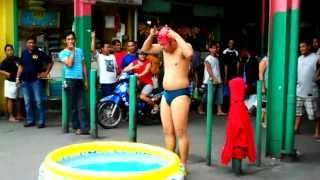 Download The Funny Swimmer Video