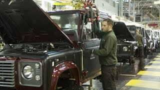 Download Land Rover Defender Production Video