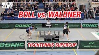 Download Timo Boll vs Jan-Ove Waldner - Tischtennis Supercup 2016 Münster Video