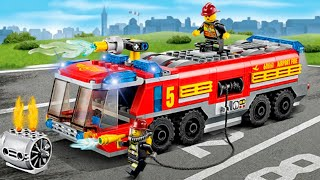 Download The Red Fire Truck with The Police Car 2 | Emergency Cars Cartoon for kids Video