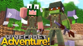 Download Minecraft Adventure - TINYTURTLE AND LITTLELIZARD JOIN THE ARMY Video