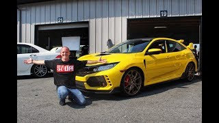 Download The Worlds Only Yellow Painted Honda Civic Type R (FK8) Video