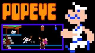 Download Popeye (NES) Video