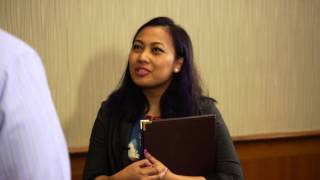 Download Speaking with Recruiters at a Career Fair Video