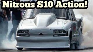 Download Nitrous s10 vs Black Dust Nitrous Camaro vs Dittmer Nitrous Luv Video