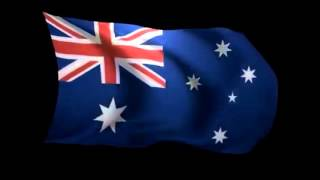 Download Advance Australia Fair (Juile Anthony version with waving flag) Video