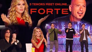 Download FORTE - Three Tenors meet online and shock the judges on Americas Got Talent! - Pie Jesu Video