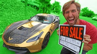 Download SELLING MY BROTHERS GOLD CORVETTE?!? Video