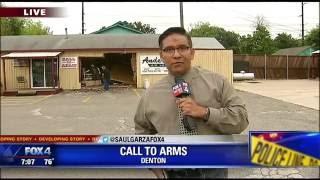 Download Denton gun stores targeted overnight Video