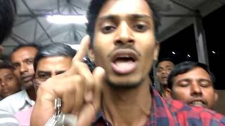 Download Indian railway ticket counter fight | Gujarat encounter full gali Video